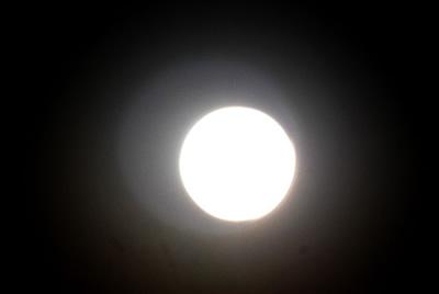 月のオーラ