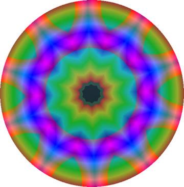 虹色のボール