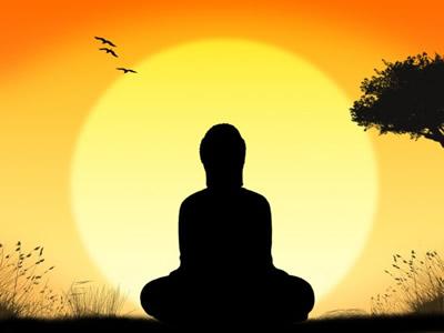 瞑想-パブリックドメイン