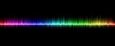 音や光の波のイメージ
