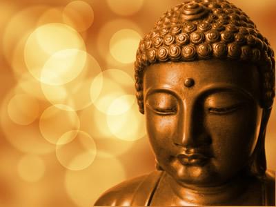 瞑想するブッダ